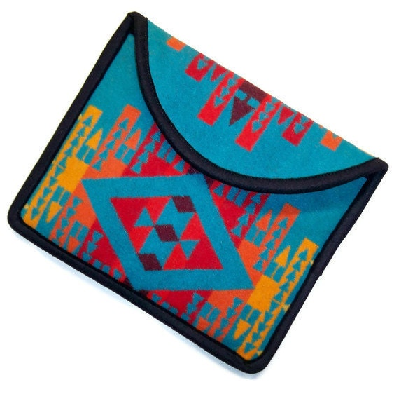 iPad Cover iPad Case iPad Sleeve Pendleton Wool Clutch Bag
