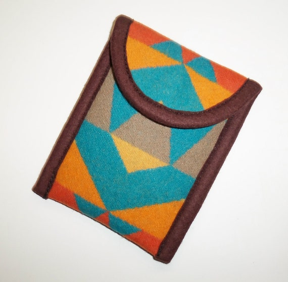 Gadget iPhone Camera Sleeve Cover Cell Phone Case Pendleton Wool Pouch Padded