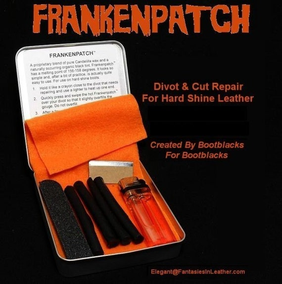 Frankenpatch - Leather Repair For Hard Shine Boots (LTH 127)