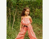 ON SALE Whimsy Couture Sewing Pattern Tutorial PDF ebook Retro Romper sizes nb through 10 girls