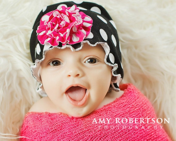 Whimsy Couture Sewing Pattern/Tutorial ebook Knit Fleece Beanie Hat All Sizes Kids Adults Girls Boys PDF