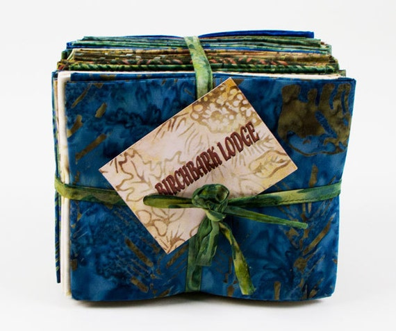 Holly Taylor BIRCHBARK Lodge BATIK Fat Quarters 27 Fabric FQs Moda 4280AB
