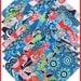 "Amy Butler LARK DREAMER Precut 5"" Fabric Cotton Quilting Squares Westminster Fibers"