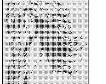 508 wild beauty filet crochet doily mat wallhanging pattern