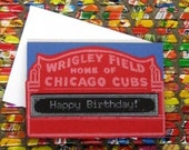 Baseball Birthday - note card