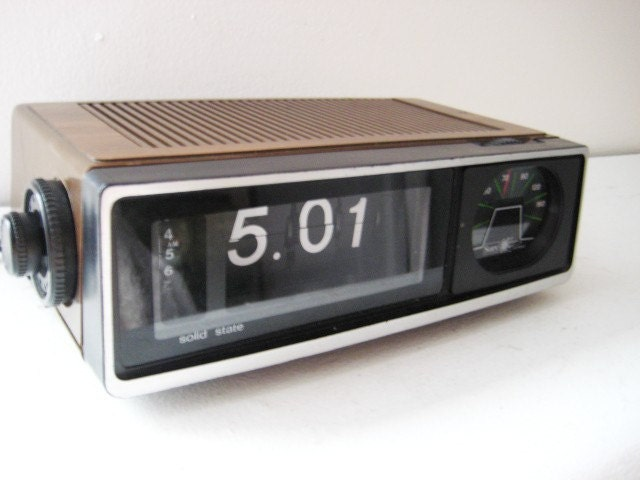 Retro Flip Clock  eBay
