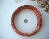 Copper Aluminum Wire - 12 Gauge - 39 Feet Soft and Easy to Bend for Name Hangers