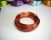 18 Gauge Anodized Aluminum Wire - Soft Copper Wire