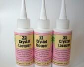 3d Crystal Lacquer - 2 Oz Bottle