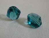Swarovski Crystal Indicolite - 12mm -   Article 5523 - Cosmic Bead