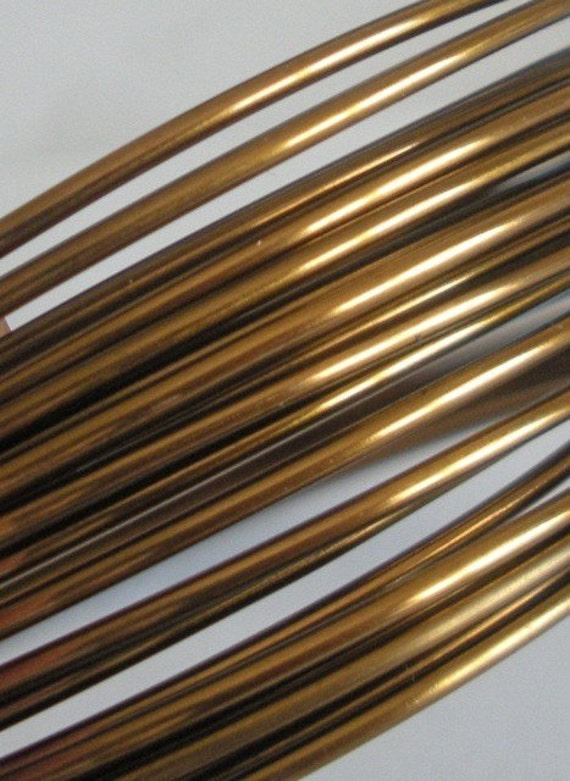 16 Gauge Vintage Bronze Wire - 5 Yards - Made in the USA - Soft Wire