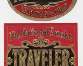 18 1930's plus  Different Unused CIGAR and TOBACCO LABELS