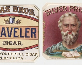 15 1930s plus TOBACCO And CIGAR  Labels.. Due to the continuing Ofac sanctions against Cuba origin of labels from u.s.