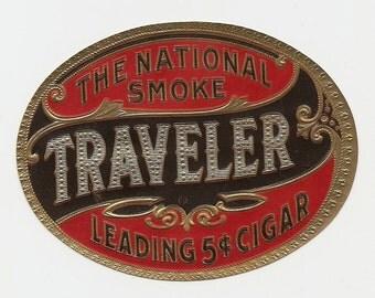 12 1930's plus Diffrent UNUSED CIGAR Box LABELS Queen Seal Etc...
