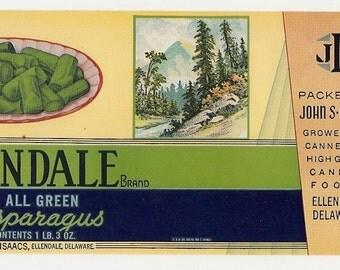 4 Old Vintage John Isaacs ELLENDALE,DELAWARE LABELS