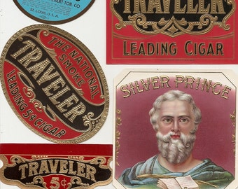 32 1930s plus TOBACCO and CIGAR LABELS  Due to the continuing Ofac sanctions against Cuba origin of labels from u.s.