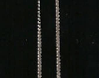 Old VINTAGE SILVER Necklace Pendant