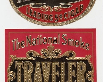 18 1930's plus  Different Unused CIGAR and TOBACCO LABELS  Due to the continuing Ofac sanctions against Cuba origin of labels from u.s.