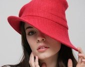 1940 style cashmere hat