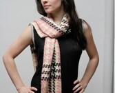 Picasso cashmere scarf