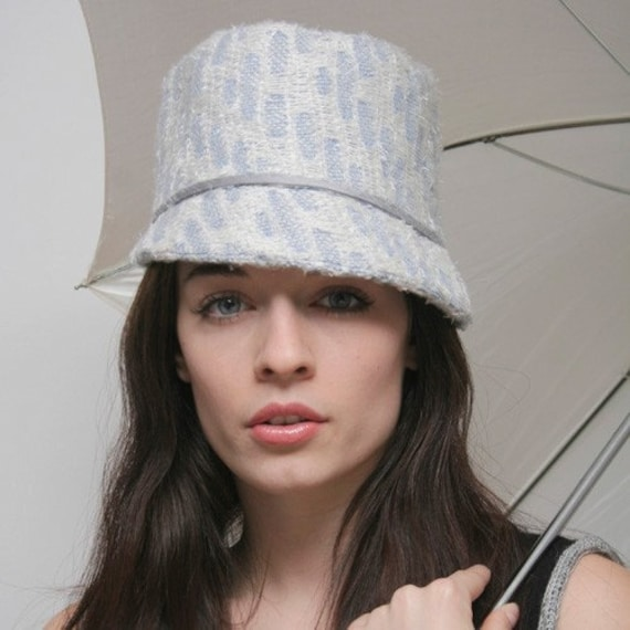 SALE cashmere cloche hat