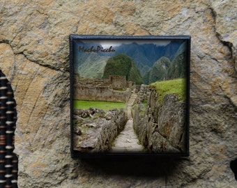 Mini Canvas Magnet - Machu Picchu, Peru