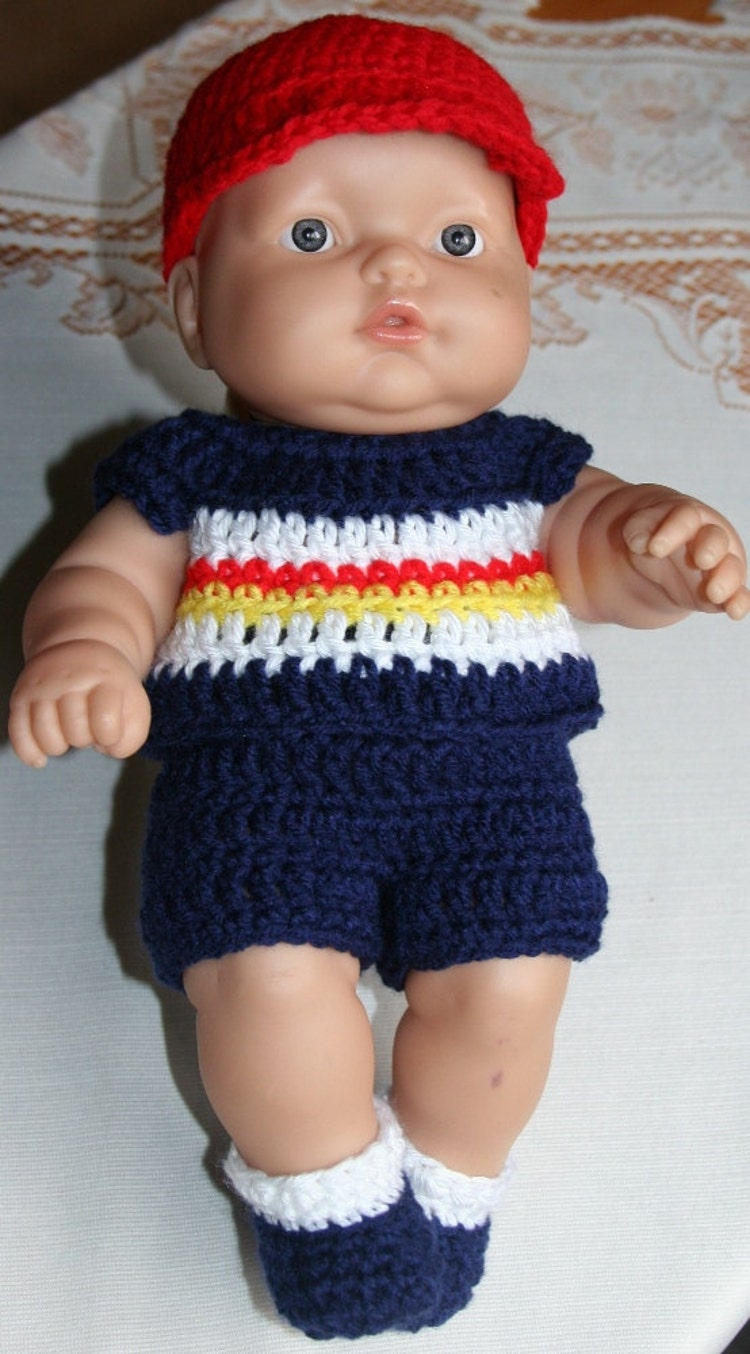 Crochet Doll Clothes 12 13 14 Inch Baby By Dollcrochetboutique