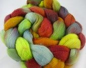Merino Wool Roving-Hand Painted- Approximately 4 Ounces