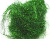 Angelina Fiber-Brilliant Moss Green-8 Inch Staple Length-1/2 ounce