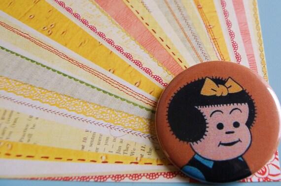 NANCY-BIG Pinback Button-BROOCH
