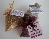 Lavender and Cedarwood Herbal Moth Repellent Sachets - Set of 3