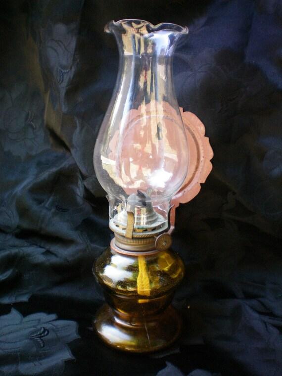 Vintage Wall Hanging Kerosene Lamp