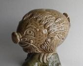 Beswick Haggis Bengales Figural Mini Ceramic Scotch Bottle