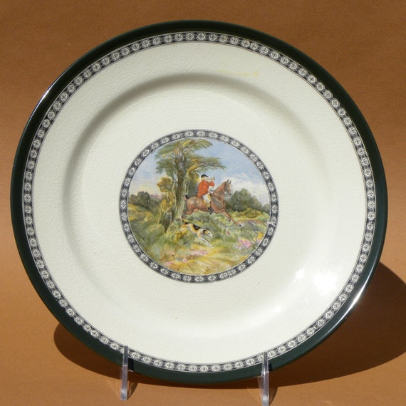 Royal Doulton Series Ware Plate - THE QUORN - hunting scenes