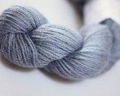 Maya DK in Storm - hand dyed baby alpaca knitting yarn - UK Seller