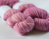 Bowland DK in Wild Rasberry (Lot 210512) - hand dyed superwash bluefaced leicester knitting yarn - UK Seller
