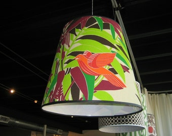 This Bird has Flown Lampshade