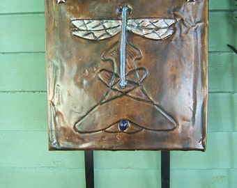 Art Nouveau Dragonfly Mailbox