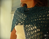 SALE Hinterland Shawlette Shawl Crochet PDF PATTERN - Digital Download