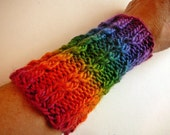 SALE Any Yarn Baby Cable Wrist Warmers - PDF Pattern - Digital Download