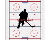 INSTANT DOWNLOAD Chella Crochet My Lucky HOCKEY Blanket Afghan Crochet Pattern Graph