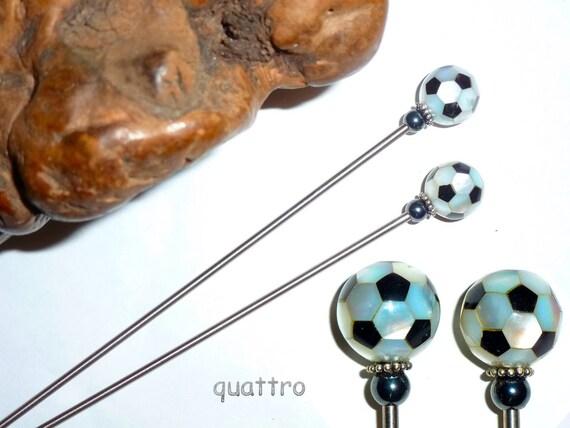 Quattro Hair Accessories 'FlexStix' Pearl Intarsia
