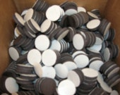 50 Peel and Stick Magnets - 1 inch buttons