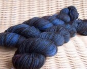 Toasted Blueberry - Fairycakes (Superwash Sock Yarn)