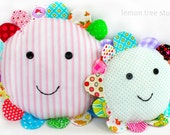 SALE -- Petal Pillow -- A Colorful Addition to Your Home -- (Pinky)