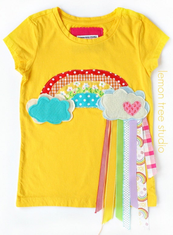 LIMITED AVAILABILITY -- Oh Happy Day (Embellished Shirt or Tunic) -- Chasing Rainbows Collection