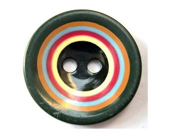 Plastic button circles design 35mm
