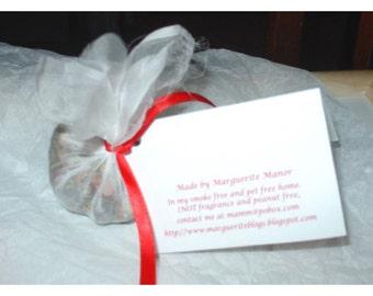 Eco friendly Sachet, favor or stocking stuffer