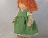 Poppy, 16 inch Waldorf Doll with Red Hair