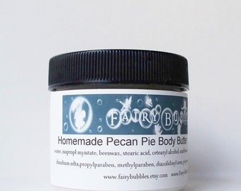 Pecan Pie Body Butter / Lotion 2 oz jar - Foodie Scent
